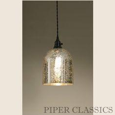 mercury glass pendant lights over kitchen island kitchen lights