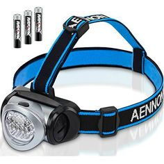 2 LED Headlamp 7 LED Headlight Hands Free for Jogging Cycling Camping Survival
