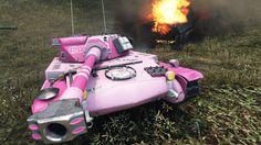 WoT AMX ELC bis (Hello Kitty skin) | 3.200+ DMG | 2.161 EXP - Live Oaks