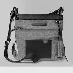 Sherpani Women's Luna Cross Body Bag, Slate, One Size