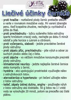 černice Glycemic Index, Dieta Detox, Wellness, Organic Beauty, Natural Health, Planer, Meal Planning, Food And Drink, Meals