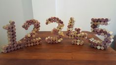 We could easily come up with enough corks to make table numbers by September 2017...