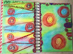 Week 21 Planner pages.