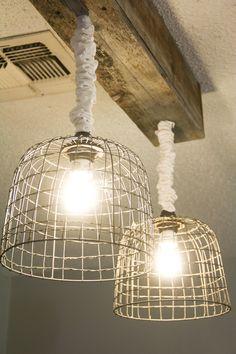 Cool lighting!   Hometalk :: Make Your Own Light Fixtures!