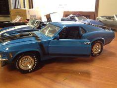 Lot of Nine 1/8 Scale Die-Cast Model Cars