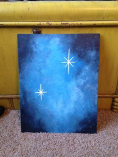 Art: second star to the right, and straight on til morning! Love this painting and know i could do that!
