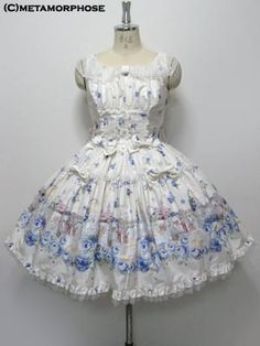 Lolibrary | Metamorphose Temps de Fille - JSK - Blooming Garden Tulle JSK