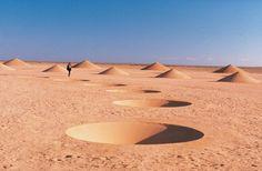 More desert site