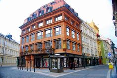 House of the Black Madonna, world's first cubist building designed by Josef Gocar in 1911