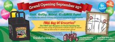 Fresh Thyme Farmers Market Opens 2 NEW Locations in Indianapolis! - Basilmomma