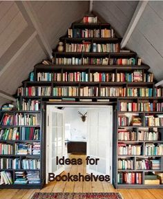 If you're wondering where to arrange your books but don't plan on buying a bookshelf just yet, don't fret. Here are some ideas for bookshelves that you might want to try out.You can save some money and earn satisfaction from using your creativity.