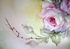 Pintura Rosas Flores En Porcelana O China DVD intructional Arte Artista Suministros