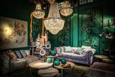The Green room on our booth at Maison&Objet september 2013.