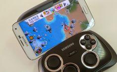 Samsung Game Pad transforma smartphone em videogame