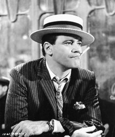 """Jack-Lemmon as fired French policemen turned pimp in director Billy Wilder's comedy """"Irma La Douce"""" Jack Lemmon, Vintage Hollywood, Classic Hollywood, Billy Wilder, Grumpy Old Men, Old Movie Stars, Hollywood Actor, Hollywood Couples, Celebrity Couples"""