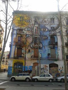Barcelona-Rambla del Raval  Graffiti