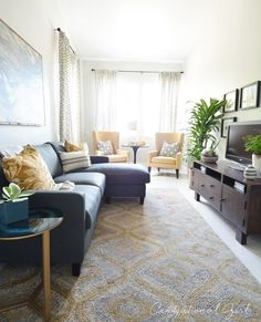 How to furnish and love a long narrow living room in 5 easy steps ...