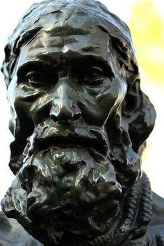 Auguste Rodin, detail of Eustache de Saint-Pierre, The Burghers of Calais, bronze, 1884-95 (Musée Rodin, Paris); (photo: Jeff Kubina CC BY-SA 2.0)