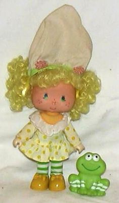 Lemon Meringue Strawberry Shortcake doll- had her and several others.  I loved how they smelled!
