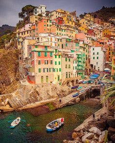 Cinque Terre, ! Province of La Spezia , Liguria Italy. I am going to do this someday 5 villages, many miles, lots of laughs.