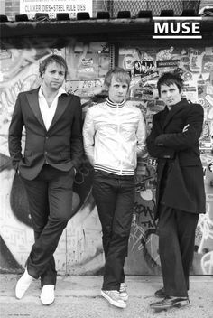 #Muse #MattBellamy #DomHoward #DominicHoward #ChristopherWolstenholme #ChrisWolstenholme