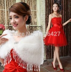 Free Shipping 2014 Top Selling prom dress Strapless Red Lace Tulle Knee-length vestido de festa prom Dresses For Wedding parties
