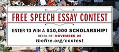 FIRE's Freedom Essay Scholarship #college #scholarships