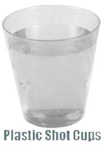 Shot Cups- Clear A$4.95