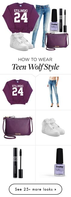 """""""ville_n°214"""" by angelabalboa on Polyvore featuring Limedrop, GUESS, NIKE, Calvin Klein and Christian Dior"""
