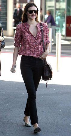 Miranda Kerr . She is married to English actor Orlando Bloom