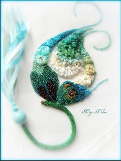 Nigar Hikmet, Silk Ribbon Embriodery #Embriodery #art