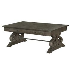 Sofa Covers Magnussen Home Furnishings Bellamy Traditional Weathered Peppercorn Storage Coffee Table