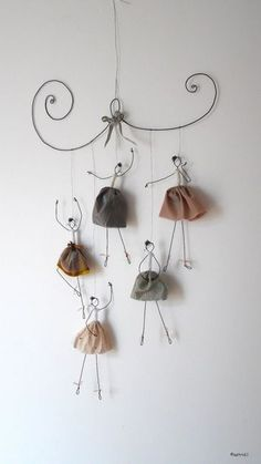 Make a simple diy to decorate your home page 29 of 56 – Artofit Wire Crafts, Diy And Crafts, Crafts For Kids, Arts And Crafts, Paper Crafts, Le Blog De Vava, Wire Art Sculpture, Diy Y Manualidades, Art Diy