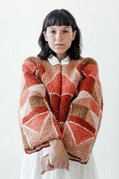 new style clothes Santa Fe, Diy Fashion, Winter Fashion, Womens Fashion, Fashion Trends, Origami Fashion, Fashion Details, Textiles, Vogue