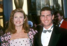 Pin for Later: Croyez Le ou Non, Ces Célébrités Ont Déjà Été Mariées  Avant Nicole Kidman et Katie Holmes, Tom Cruise a épousé l'actrice Mimi Rogers en May 1987. Ils ont finalisé leur divorce en Février 1990.
