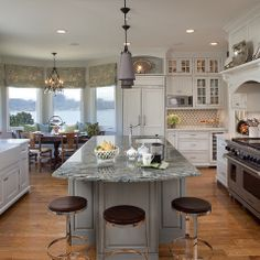 Blue Louise Granite Design Ideas, Pictures, Remodel, and Decor - page 21