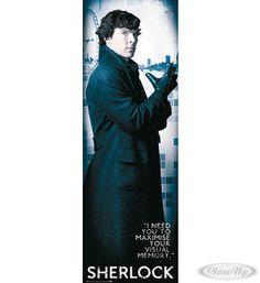 Sherlock Poster Solo  Erhältlich auf www.closeup.de
