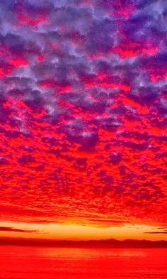 Crimson Sky - Alaska ~