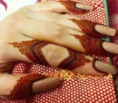 Kashee's Mehndi Designs, Pretty Henna Designs, Indian Henna Designs, Finger Henna Designs, Mehndi Design Pictures, Wedding Mehndi Designs, Mehndi Designs For Fingers, Henna Tattoo Hand, Henna Mehndi