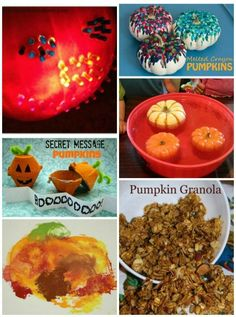 Play, Create & Explore with Pumpkins -- lots of fun ideas for the kids!