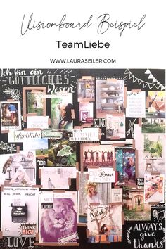 Visionboard Beispiel Teamliebe ♡ – Best Baby And Baby Toys