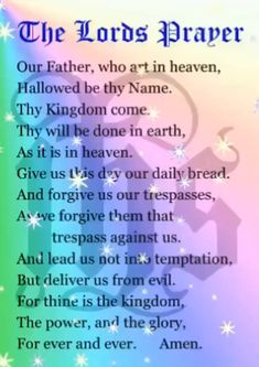 The Lord's Prayer Prayer Scriptures, Bible Prayers, Faith Prayer, God Prayer, Bible Verses Quotes, Prayer Quotes For Strength, Catholic Prayers Daily, Prayer For Salvation, Night Prayer Catholic
