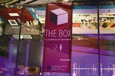The Box. La tendència de Barcelona. El cubo de la tendencia. #theboxbcn