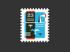 Stamp by Riley Cran | Dribbble