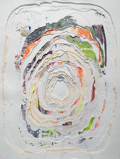 "Andrea Myers- ""Within my artistic practice, I maintain an interest in exploring the space between the two- dimensional and three- dimensional, hybridizing painting, printmaking and sculpture."" - andreamyersartist.com/"