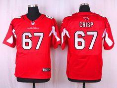 NFL Jerseys Outlet - Arizona Cardinals #67 Rob Crisp White Road NFL Nike Elite Men's ...