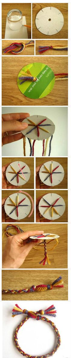 Very Easy Fabric Bracelet | Click to see More DIY & Crafts Tutorials on Our Site.