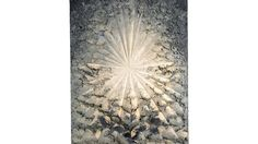"""""""Jay DeFeo: A Retrospective""""   Art in New York  This painting of a rose took years to create and is made up of layers and layers of oil paint. #imagine #arttakestime"""