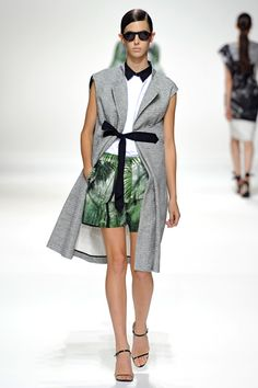 Dries Van Noten. I was obsessed with the prints he used for his fabric in this collection