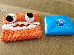 Annoo's Crochet World: Allergy Season Monster Tissue Cover Free Pattern